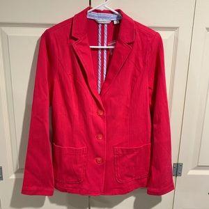 NWOT Isaac Mizrahi Pink Blazer Size Small